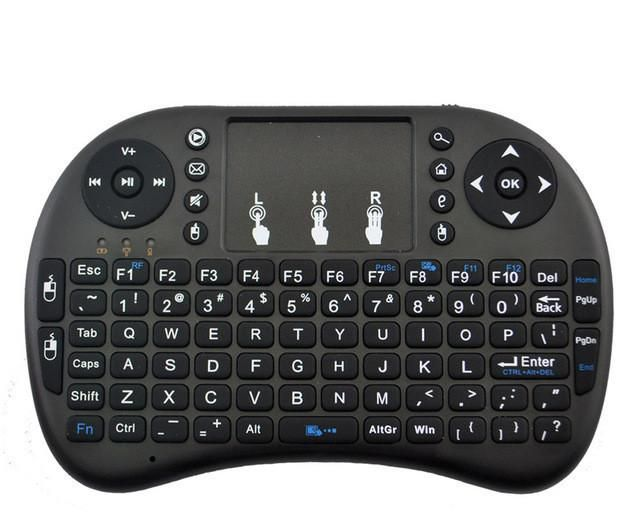 2.4GHz Wireless iKeyboard Remote Control Touchpad Android Box Tablet Laptop HTPC