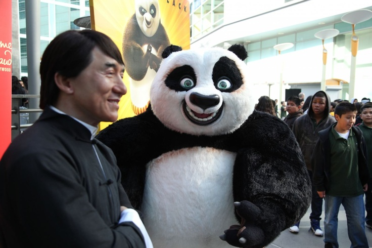 My childhood crush still has it! And he likes pandas... it's a sign!: Favorite Things, Childhood Crush, Kung Fu Panda, Favorite Movies, Likes Pandas, Photo