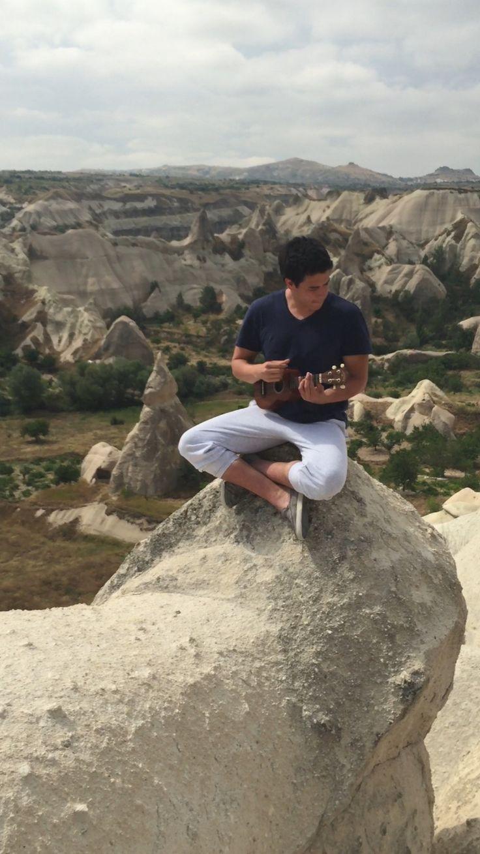 Deja fluir mi música entre tus bellos paisajes  Turkey Capadocia Göreme
