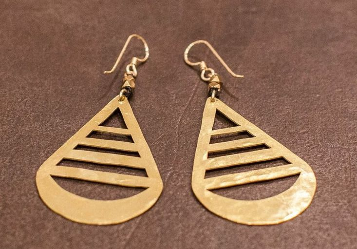 Covetable jewels @ our online gift shop: https://zady.com/departments/gifts #zady   (Teardrop Earrings by Marisa Haskell)