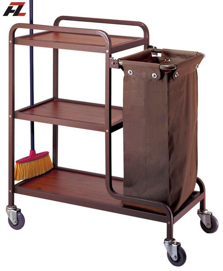 Hotel Housekeeping Cleaning Trolley Housemaid