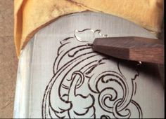 The Art of Hand Engraving: Transferring printed artwork onto metal surfaces...