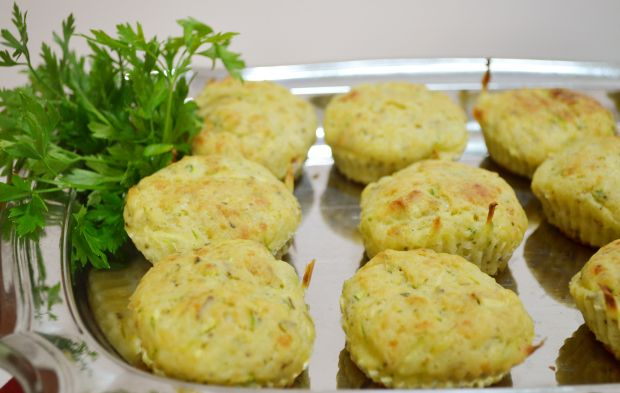 muffin de abobrinha