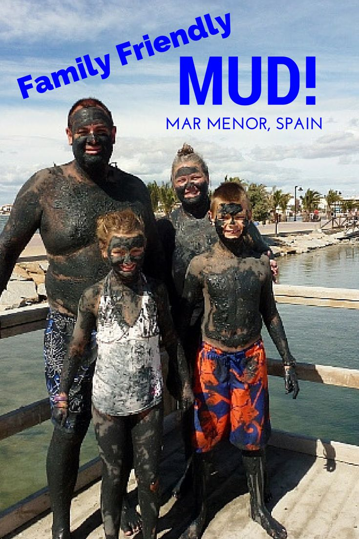 Want to get dirty in Spain. We tell you how to take a mud bath in Mar Menor Spain. Read more on WagonersAbroad.com