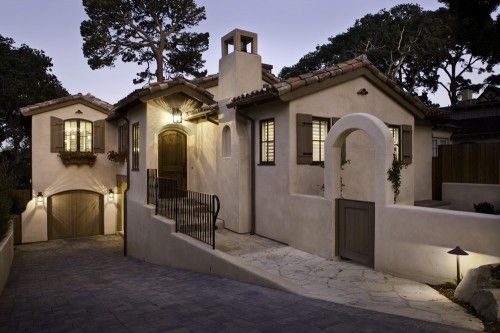 Anderson residence by claudio ortiz design group inc for Spanish style homes for sale near me