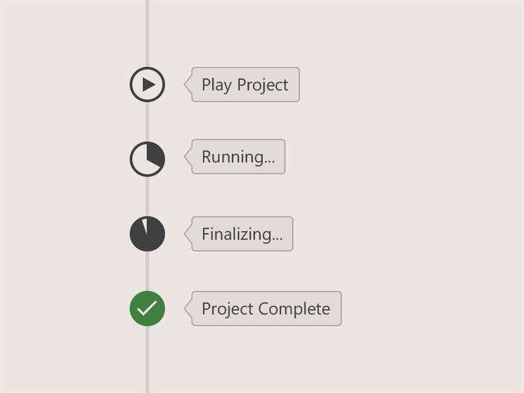 Project Timeline Status Elements