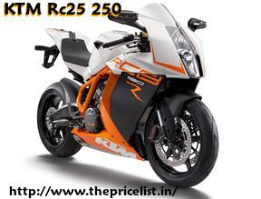 Check The Latest Price List of KTM Bikes Price in India