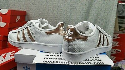 adidas superstar snake rose gold