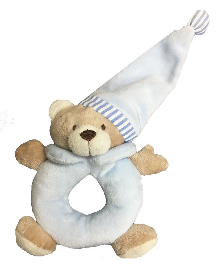 Outlet K&K Baby Goodnight Bear Rattle