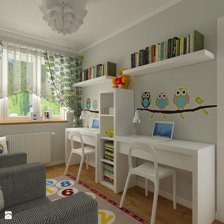 Pokój chłopca i dziewczynki - Pokój dziecka, styl nowoczesny - zdjęcie od Carolineart