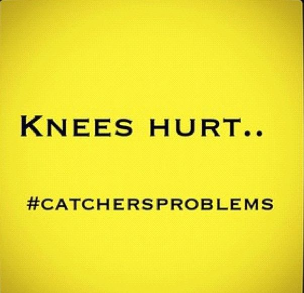 I don't catch anymore but they still hurt all the time!