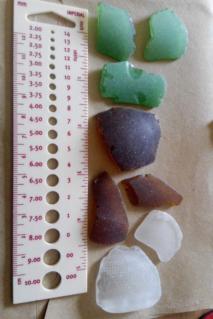 Genuine Irish seaglass pieces found on Irish coast. by terramor on Etsy