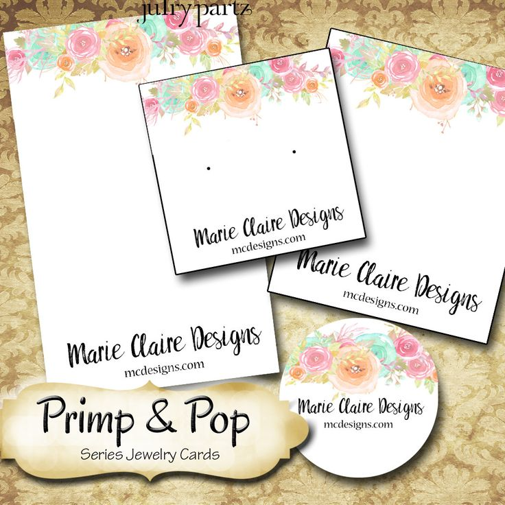 PRIMP & POP•Custom Tags•Labels•Earring Display•Clothing Tags•Custom Hang Tags•Boutique Card•Tags•Custom Tags•Custom Labels by JulryPartZ on Etsy
