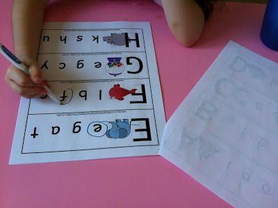 Revue de l'alphabet