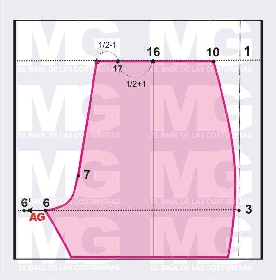 Pantalón Pitillo o Tubito. Trazado de Patrón Parte II, Trasero, Cintura y Pretina. Entra y te mostraremos esto.