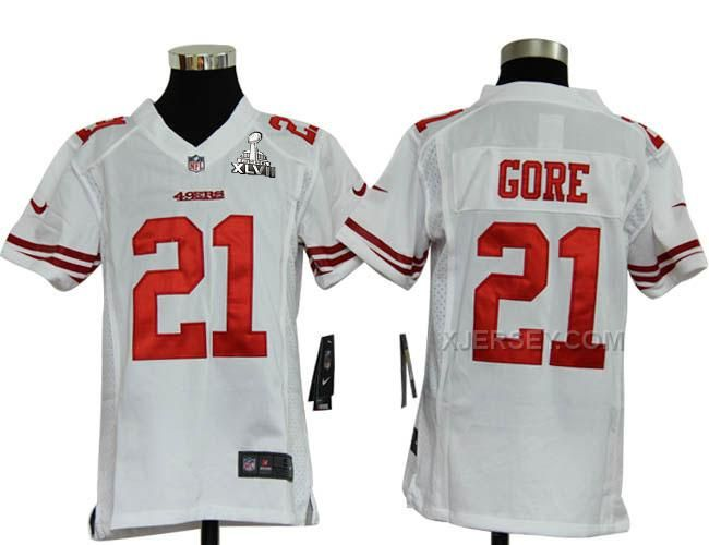 d94f1def9 ... Nike Frank Gore White Youth NFL Game Jersey And Cowboys Emmitt Smith 22 jersey  Limited Womens Pink Frank Gore Jersey - Nike 21 San Francisco 49ers ...