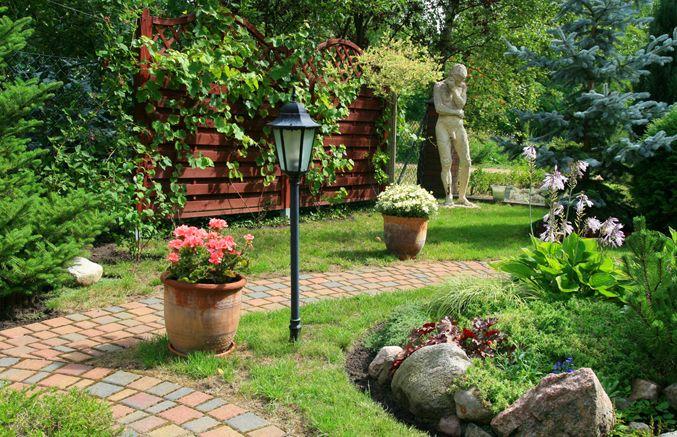 Would love a paved path through my backyard garden.