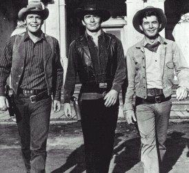 The Virginian first aired in 1962 and ended in 1971. And here's an interesting fact - it was the first 90-minute Western series on TV! Actually it was more like a weekly movie feature.