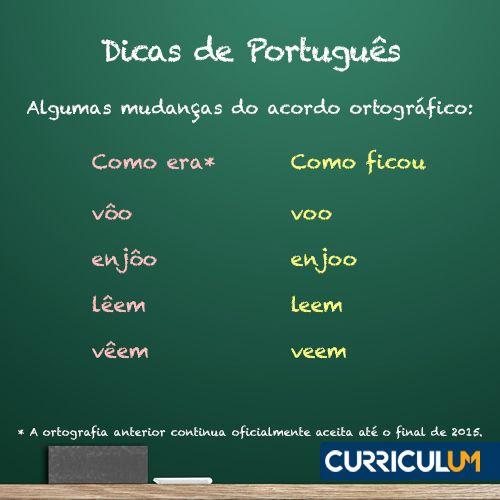 Atualize seu currículo na nova ortografia com nossa Análise ou Revisão de Currículo: http://www.curriculum.com.br/candidatos-ferramentas-revisao-e-analise.asp