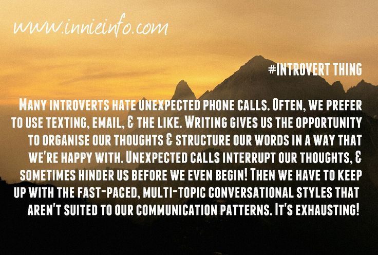 """Introvert Things"" meme series; Part 9. One of our most #hated things! This can be pretty #quirky , #funny , or downright #hard for an #extrovert to understand; but for many #introverts and #HSPs ,..."
