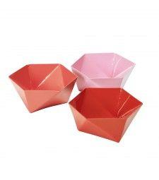 Origami skálar frá Base212. www.reykjavikbutik.is