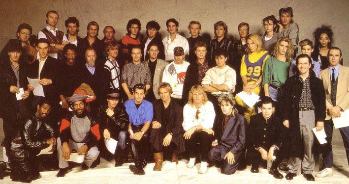Band Aid 1984. I've met Sir Bob too.