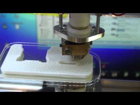 3d printing (my first print) - YouTube