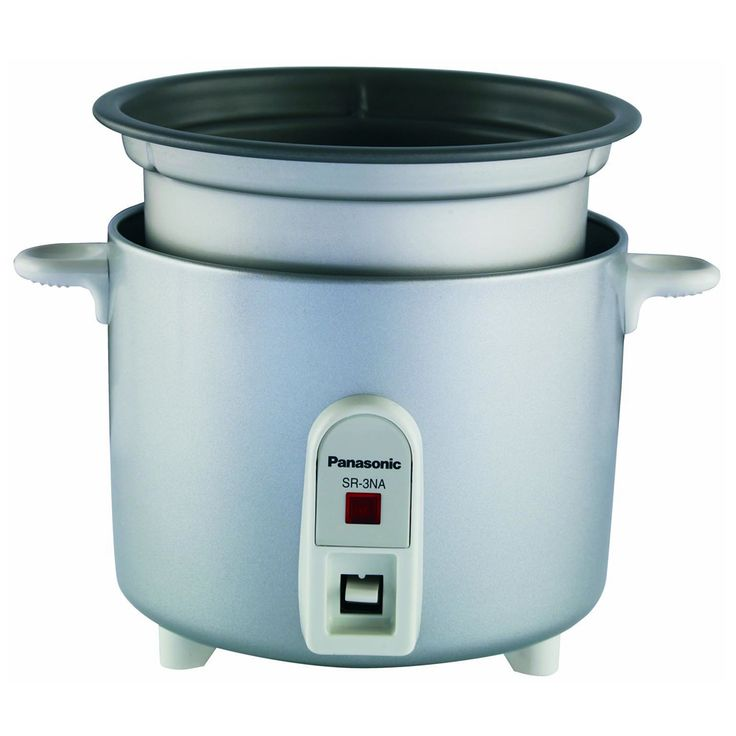 PANASONIC AUTOMATIC 1.5 CUP RICE COOKER SR-3NA