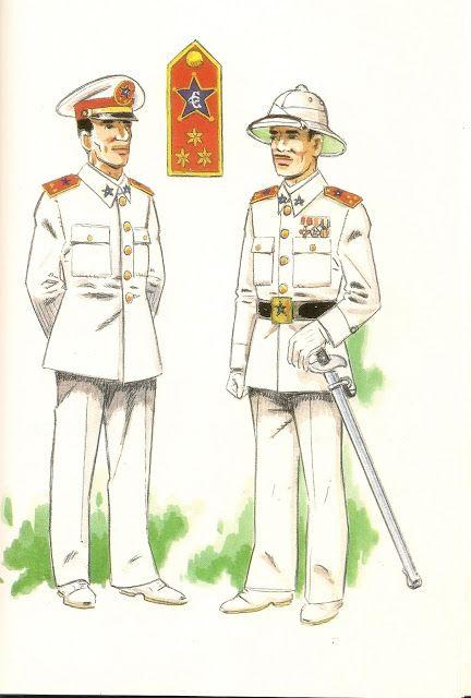 Spain GUARDIA COLONIAL DEL GOLFO DE GUINEA.1935. Oficial en uniforme de gala ,fuera de formación - Oficial en uniforme de gala en formac...
