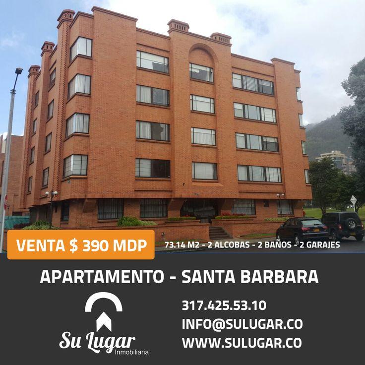 Su Lugar Inmobiliaria SAS pone a tu disposición este increíble apartamento en Santa Barbara. Visitanos o escribe a info@sulugar.co para más información #Bogotá #Colombia