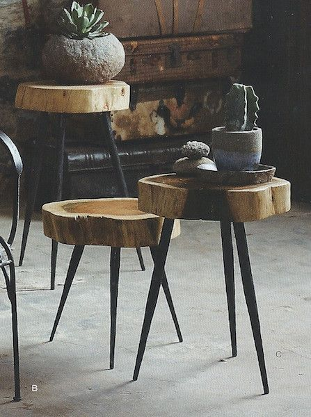 Roost Terra Stool/Side Table **Next Day Shipping. Rustic Wood  FurnitureFurniture ...