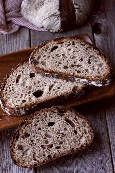 Rye Spelt Sourdough - with rye flakes | The Fresh Loaf