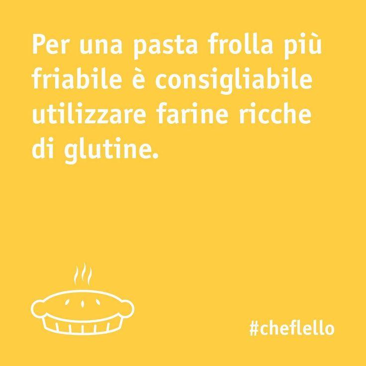 Volete preparare una pasta frolla super friabile? Seguite il nostro tips!⠀  -⠀  #chefincamicia #pastafrolla #tips #yummy #noifacciamocosi #food #cake #foodie #sweets #instafood #instacake #igersfood #italianchef