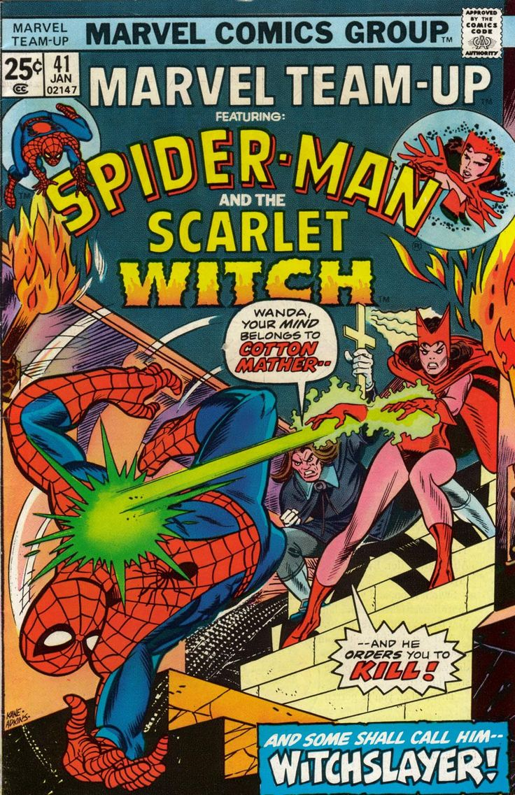 Marvel Team-Up (1972) Issue #41 - Read Marvel Team-Up (1972) Issue #41 comic online in high quality