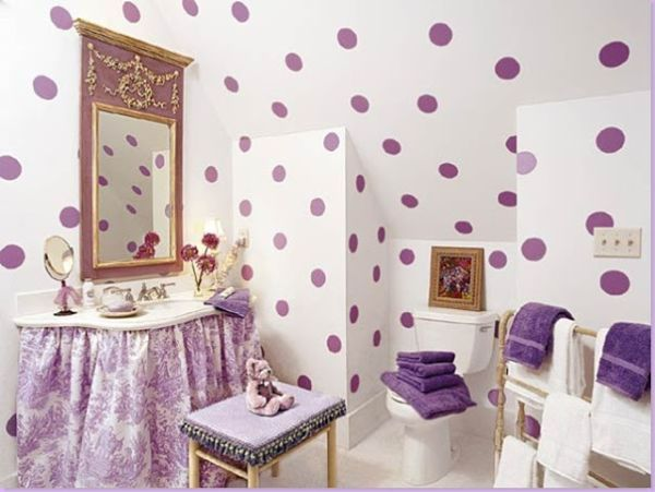 5 Themes For Your Little Girl's Bathroom