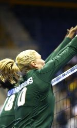 Fourteen of Michigan State's volleyball games will be televised or streamed live in the 2013 season, in a schedule announced on Thursday by the Big Ten Conference.  Highlighting MSU's television exposure is a game at Minnesota which will air live on ESPN 2 on Oct. 17