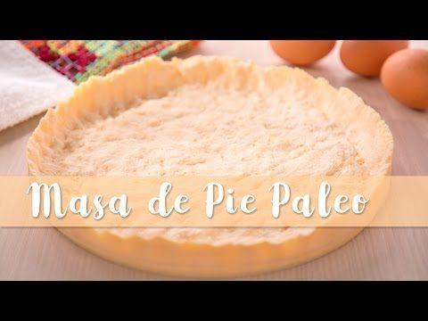 Blog - Masa para pie paleo (sin gluten, sin lácteos) con harina de coco