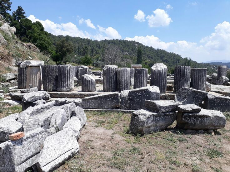 labranda Ancient city muğla turkey