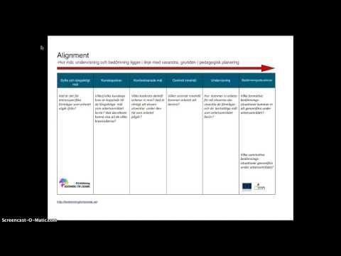 Alignmentplanering