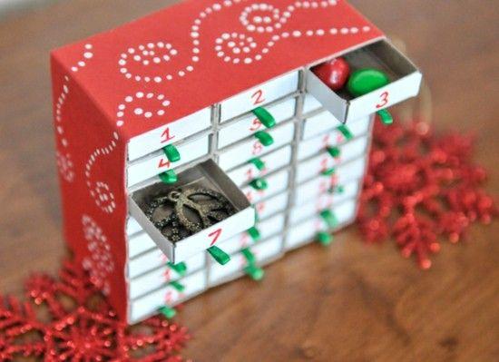 Kreieren Sie selbst ungewöhnliche Adventskalender – 70 stimmungsvolle Beispiele zum Nachahmen   – Weihnachtsbasteln