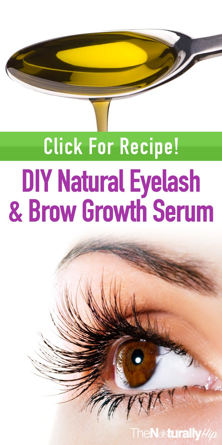 DIY Natural Eyelash & Brow Growth Serum | This will save you tons of money, and it WORKS!