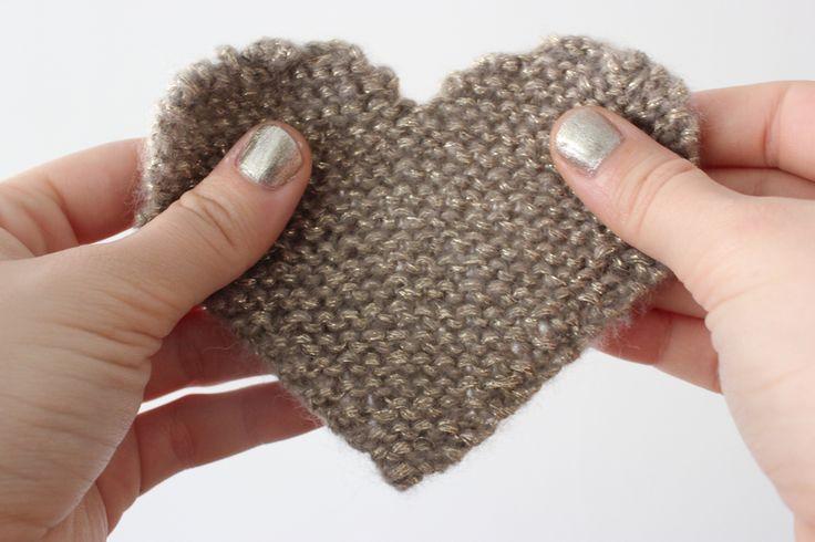 Coeur en tricot (DIY)