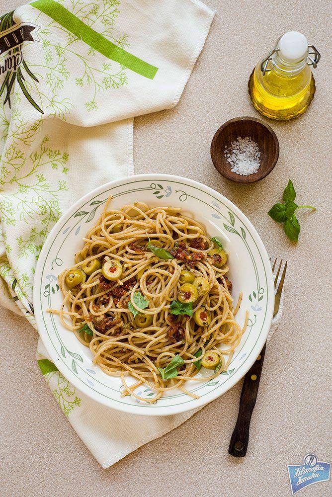 Sun-Dried Tomato Pasta/Makaron z suszonymi pomidorami