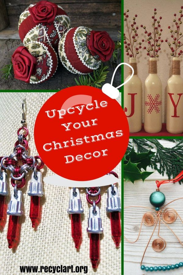 947 best Recycled Christmas Decorations u0026 Ideas
