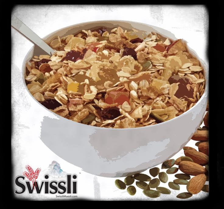 Traditional #muesli !    #Swissli  #Desayuno #cereal