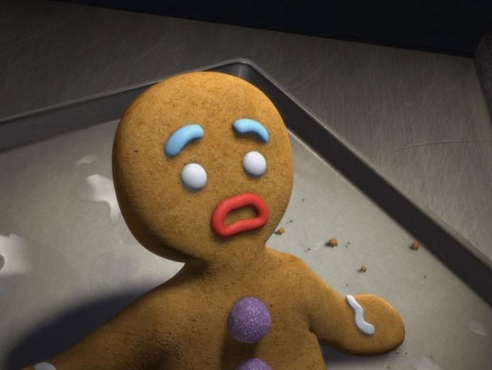 35 best images about gingy on pinterest shrek perler - Ti biscuit shrek ...