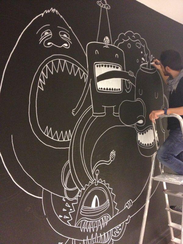 Drawing monsterland