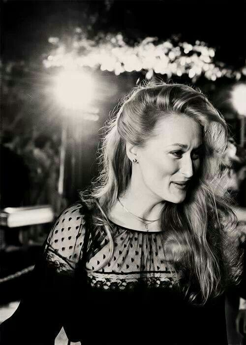 Meryl Streep -- for her incredible acting talent and the ability to fit into any mold. https://www.youtube.com/watch?v=bDKI0TJyxbg