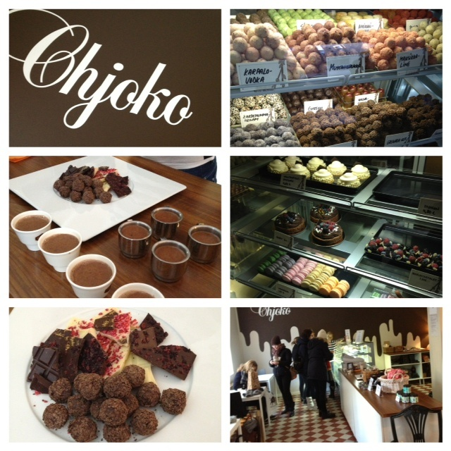 Who wouldn't like chokolate?! Chjoko, Liisankatu 9 @ Kruunuhaka district