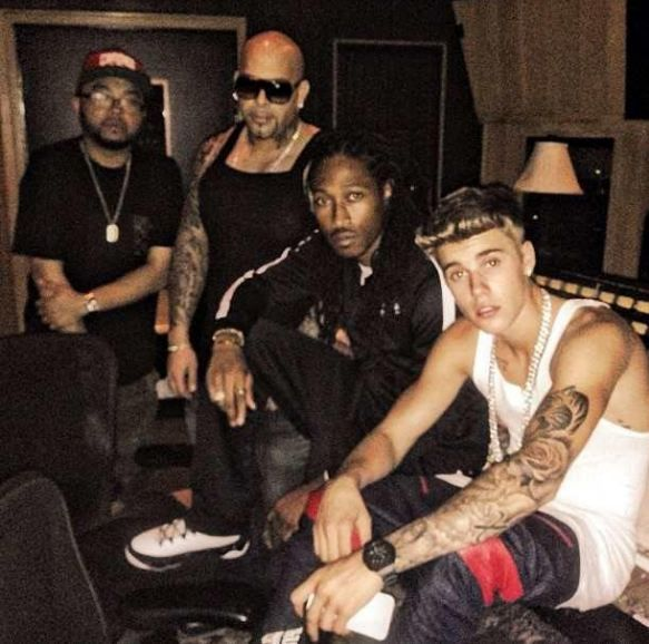 'He has a great passion for music,' Rapper Future tells how he was recording with Justin Bieber